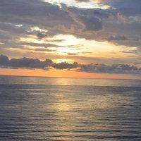 Закат на Большом Утрише (Анапа)